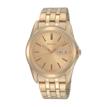 Seiko Champagne Day & Date Men's Watch