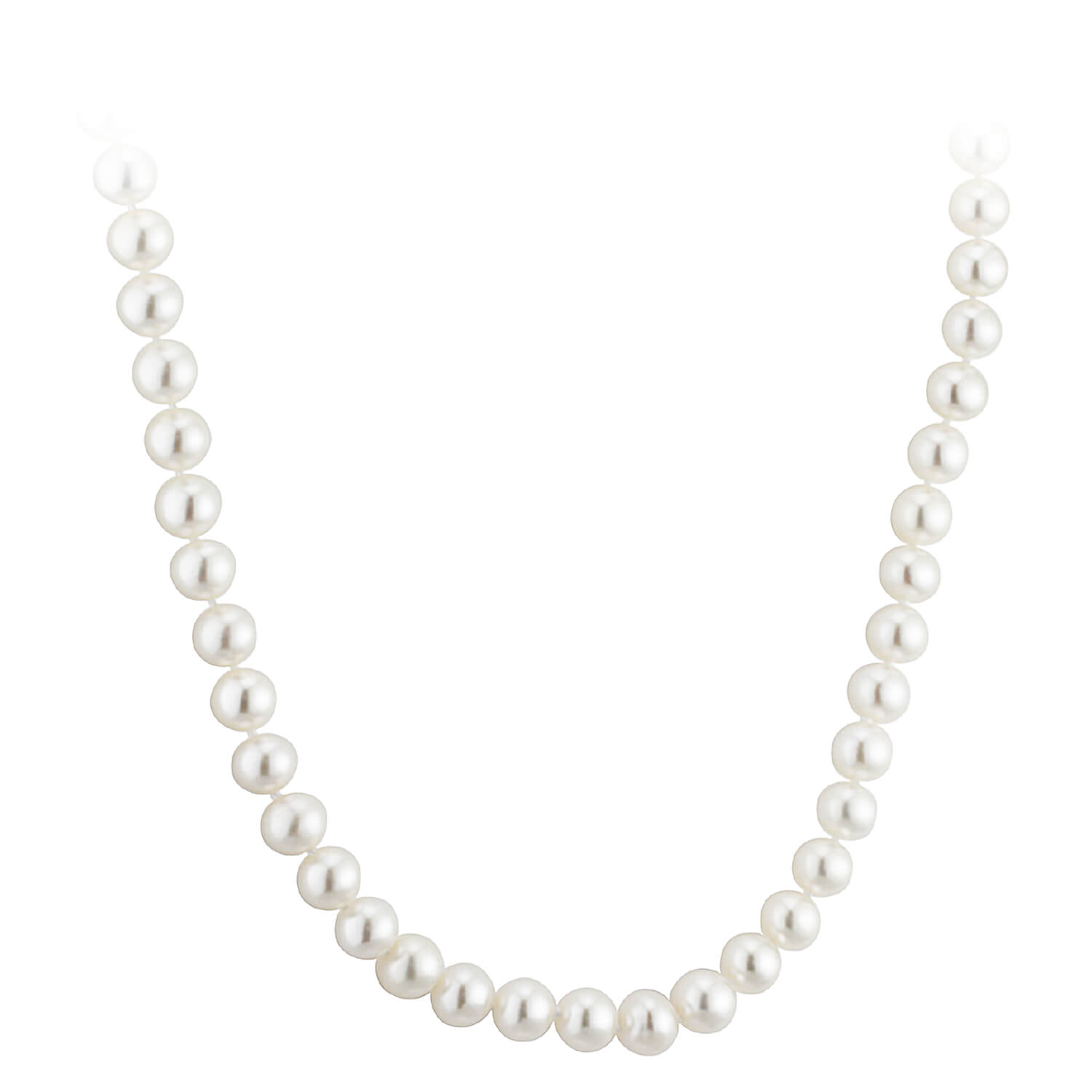 9ct Gold 75mm Freshwater Pearl Necklet