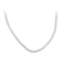 """9ct Gold 18"""" Pearl Necklet"""