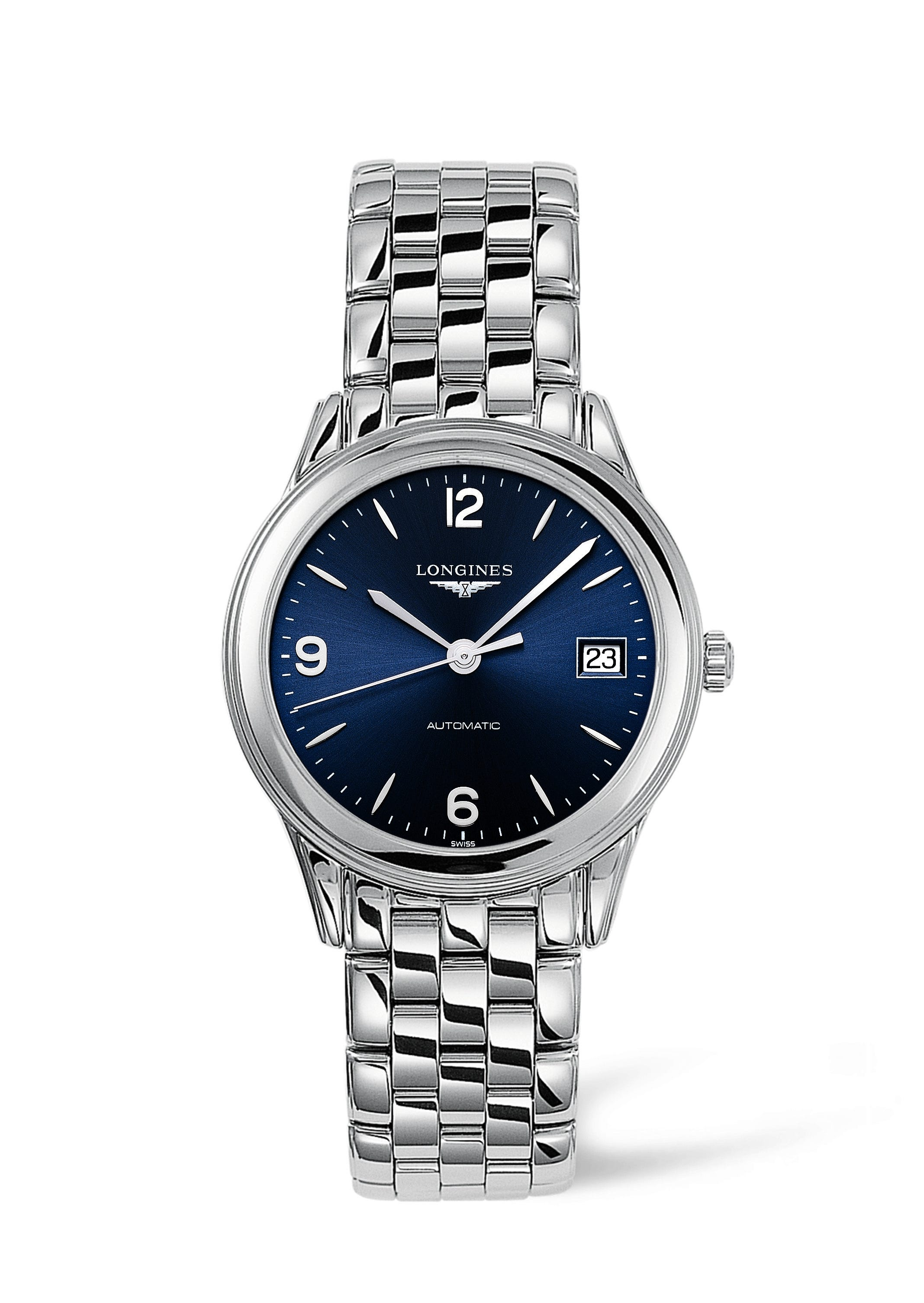 Longines Flagship men's automatic stainless steel bracelet watch