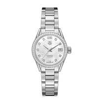 TAG Heuer Carrera Diamond & Pearl 28mm Ladies' Watch