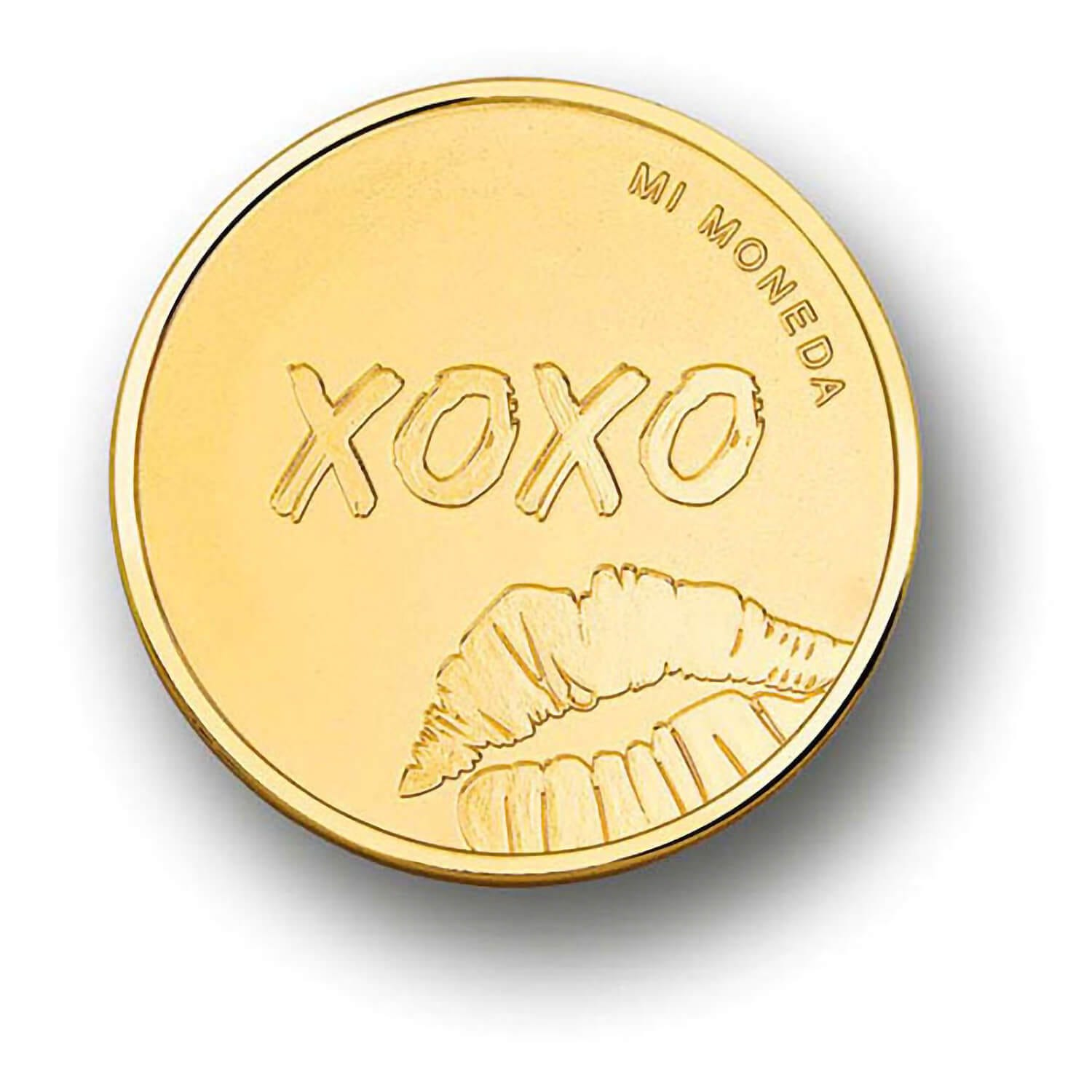Mi Moneda Key to my Heart - EXCLUSIVE to Fields - Gold Plated Coin