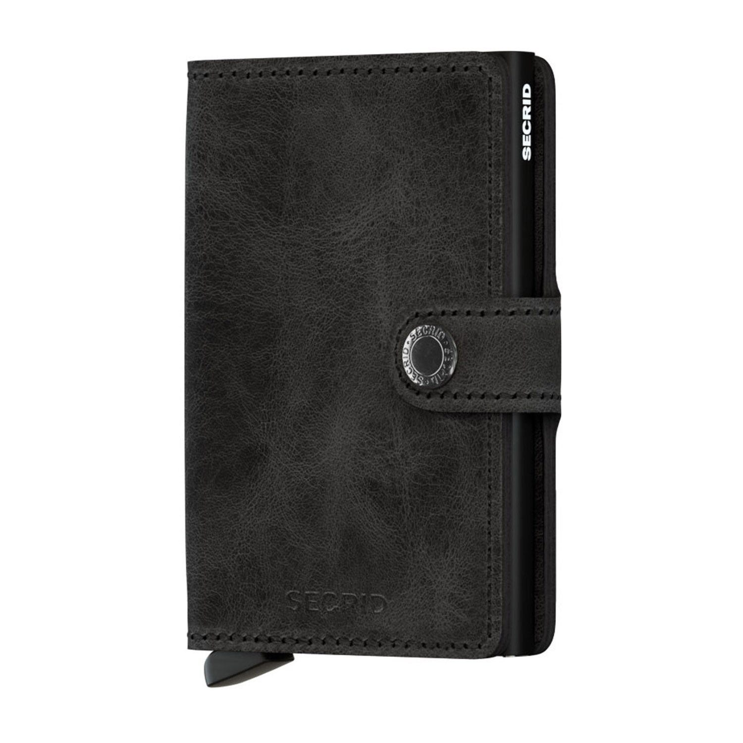 Secrid Wallet Vintage Black Leather Miniwallet