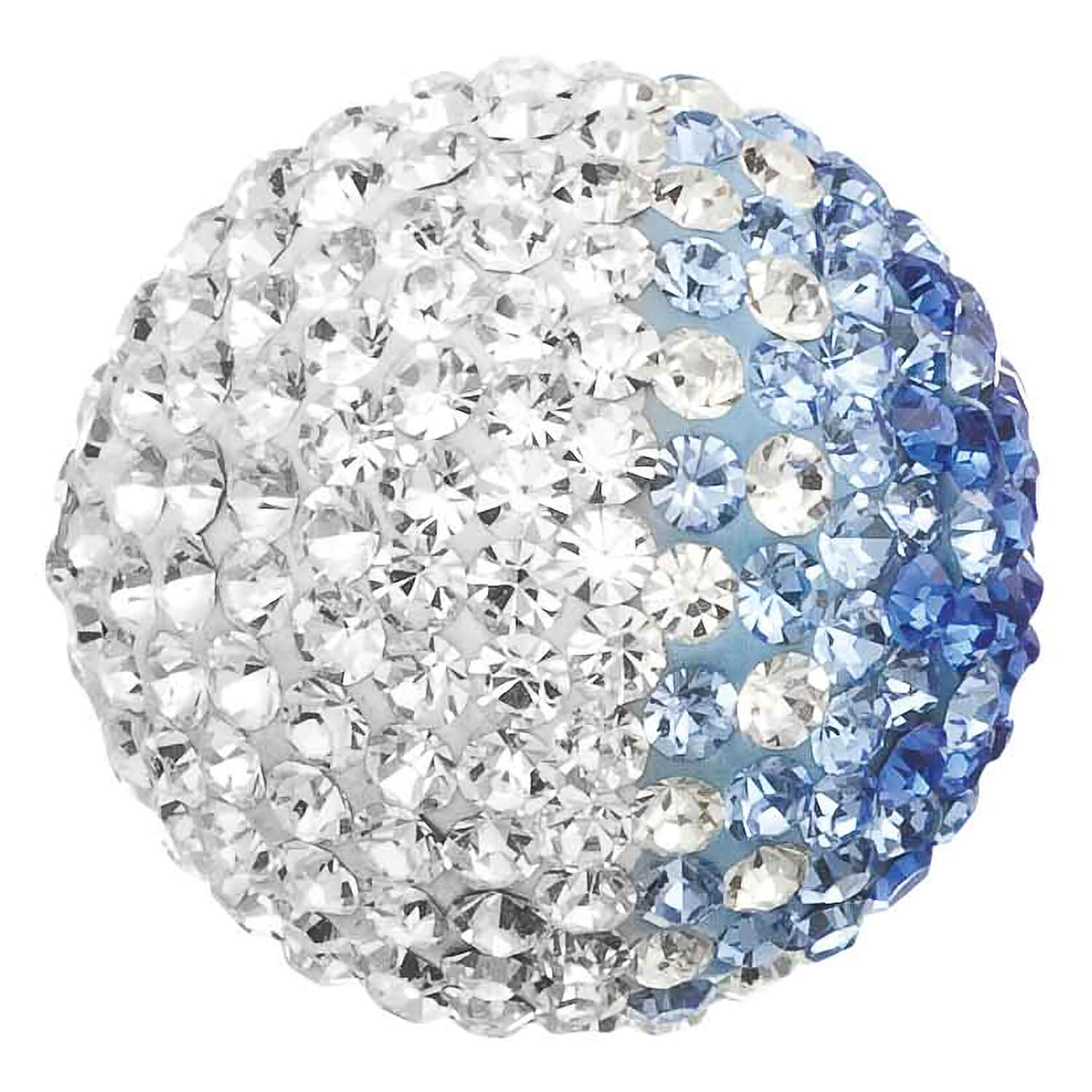 Engelsrufer Medium White And Blue Crystal 17mm Sound Ball