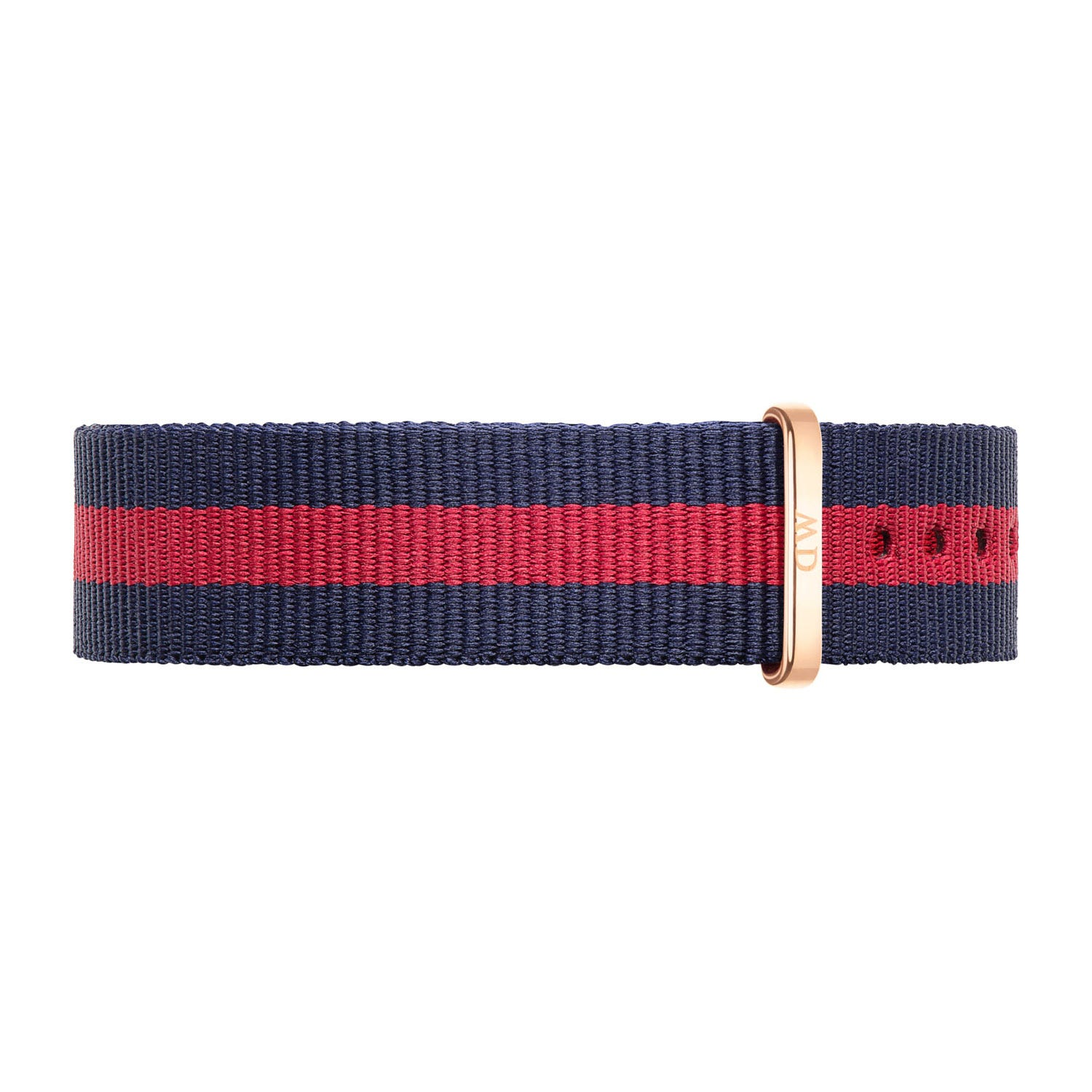 Daniel Wellington Oxford 18mm Red and Navy NATO Strap
