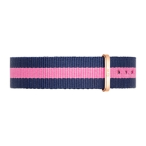 Daniel Wellington Winchester 18mm Pink and Navy NATO Strap