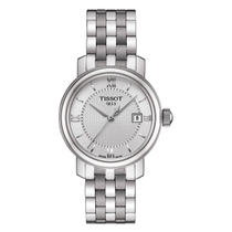 Tissot Bridgeport Men's Silver Dial Stainless Steel Bracelet Watch