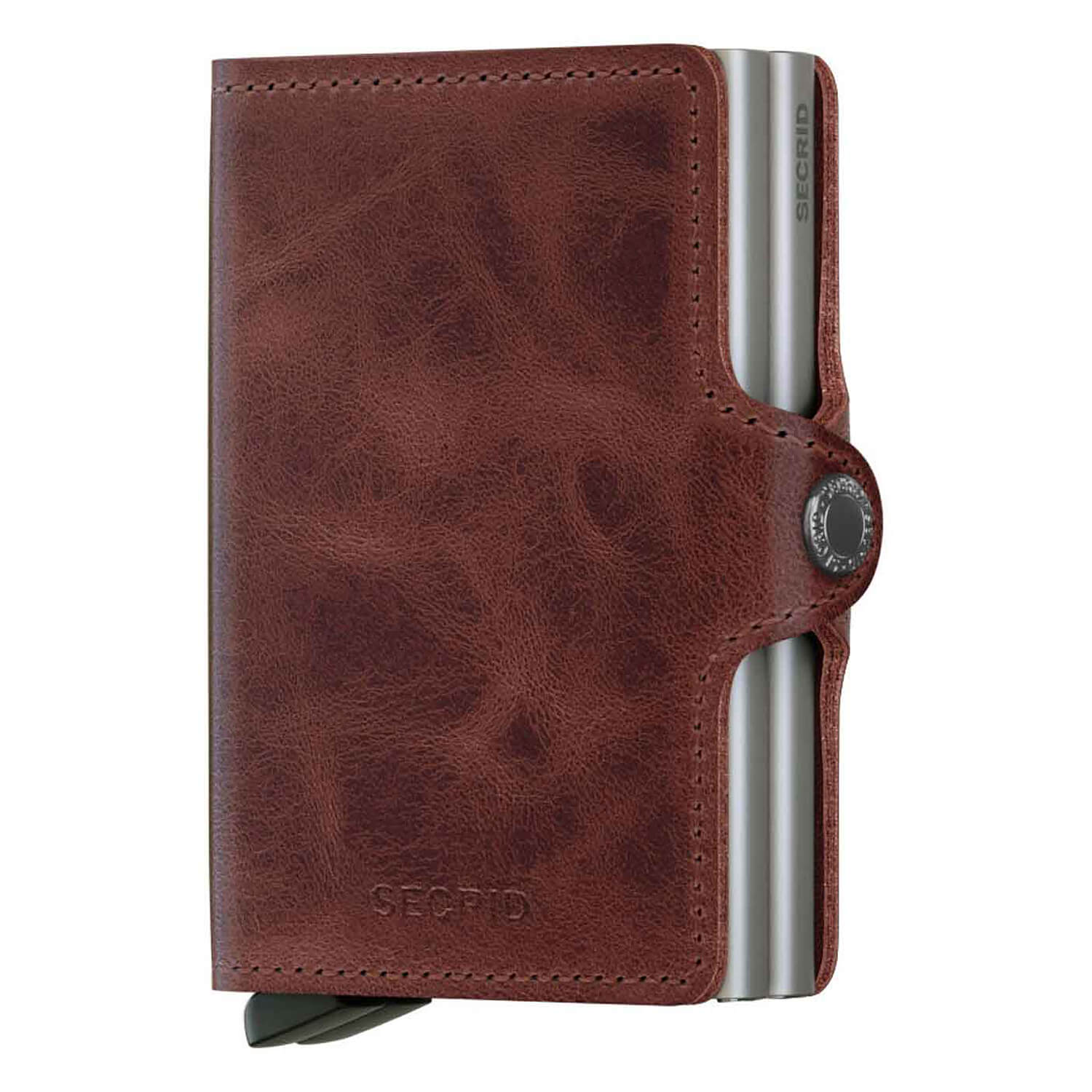 Secrid Twin Vintage Brown Leather Wallet