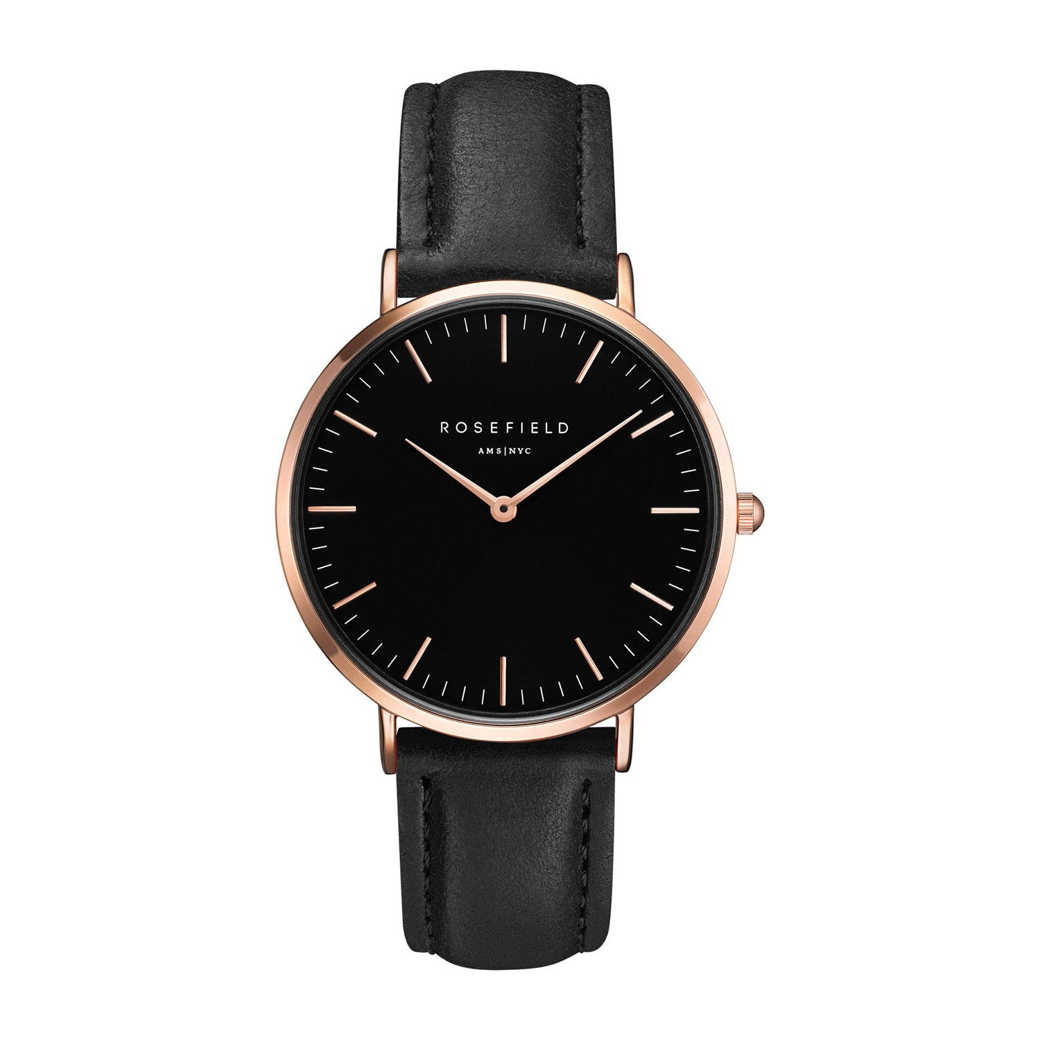 Rosefield THE BOWERY Black Rose gold