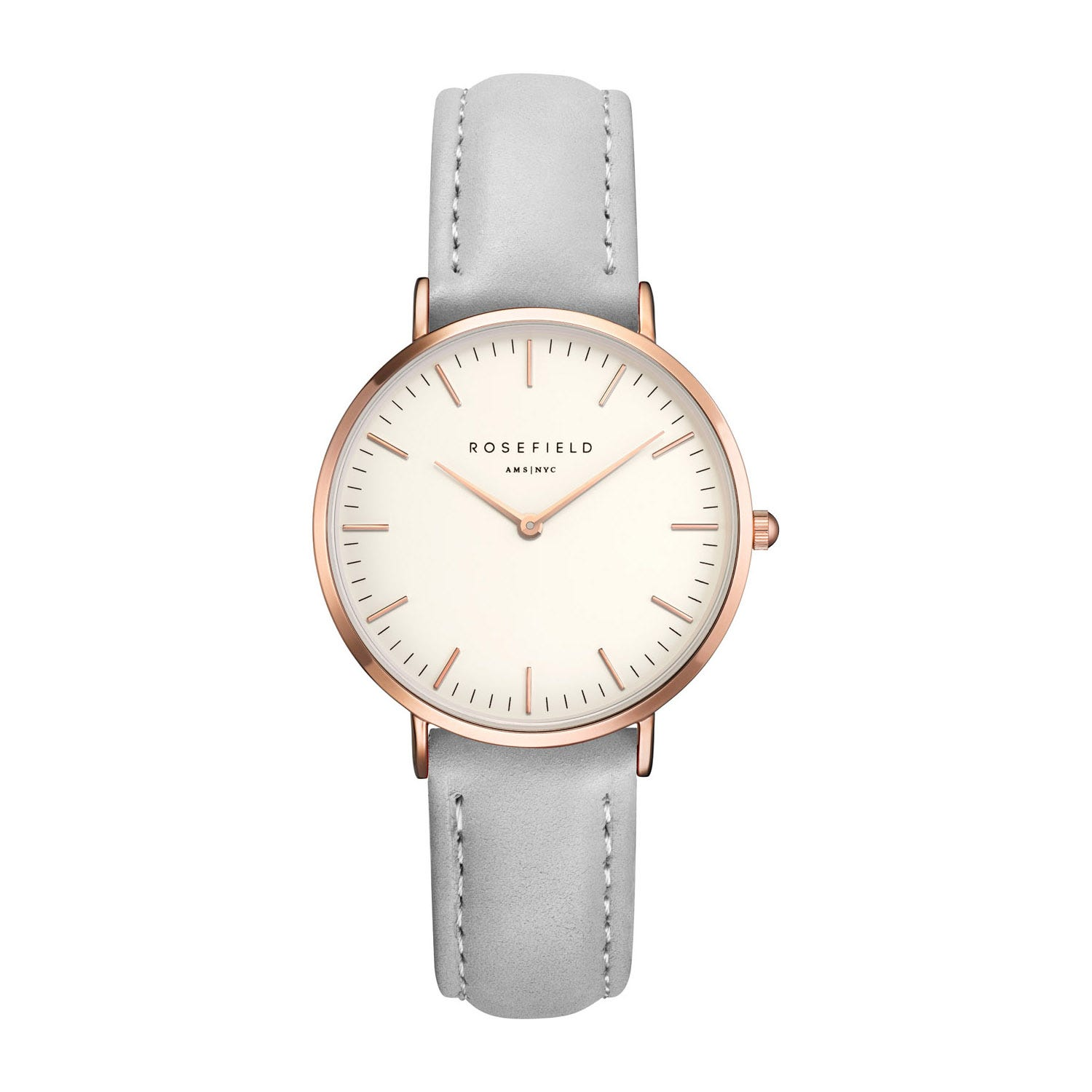 Rosefield THE TRIBECA White Rose Gold Grey