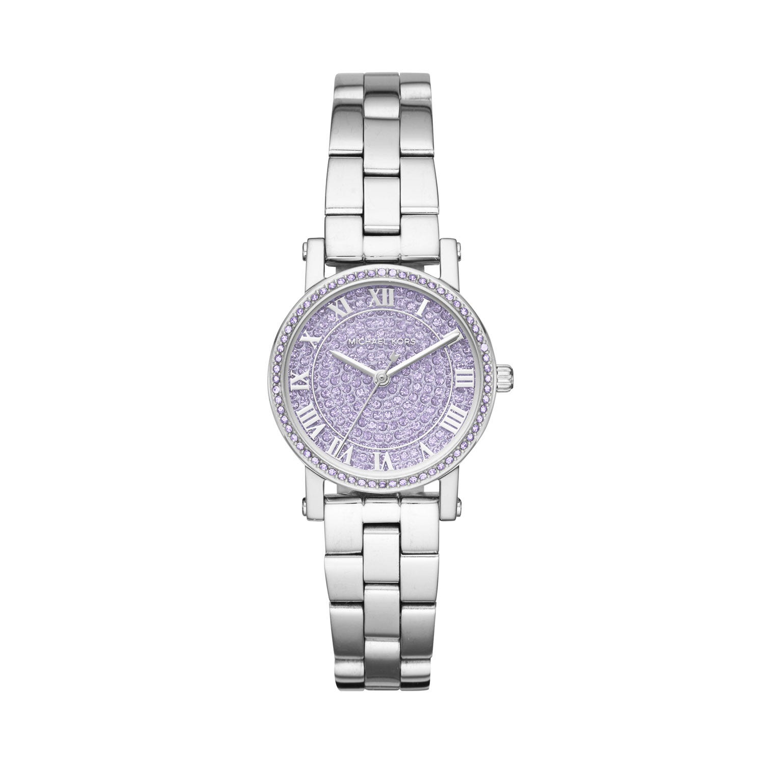 Michael Kors Norie Stainless-Steel Purple Dial Ladies Watch