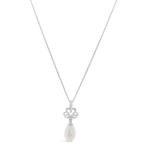 Kathy de Stafford Sterling Silver and Fresh Water Pearl Pendant