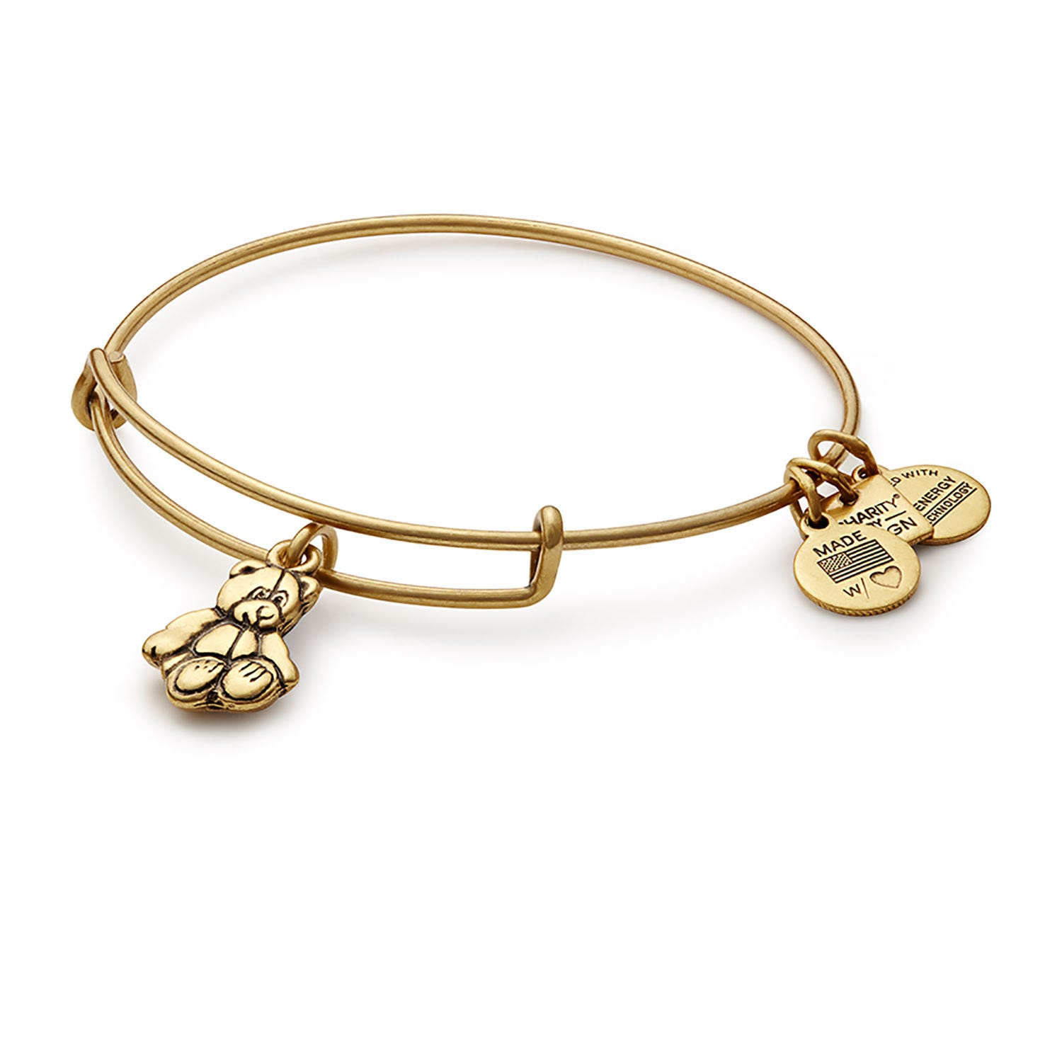 Alex And Ani Rafaelian Gold LauraLynn Bangle