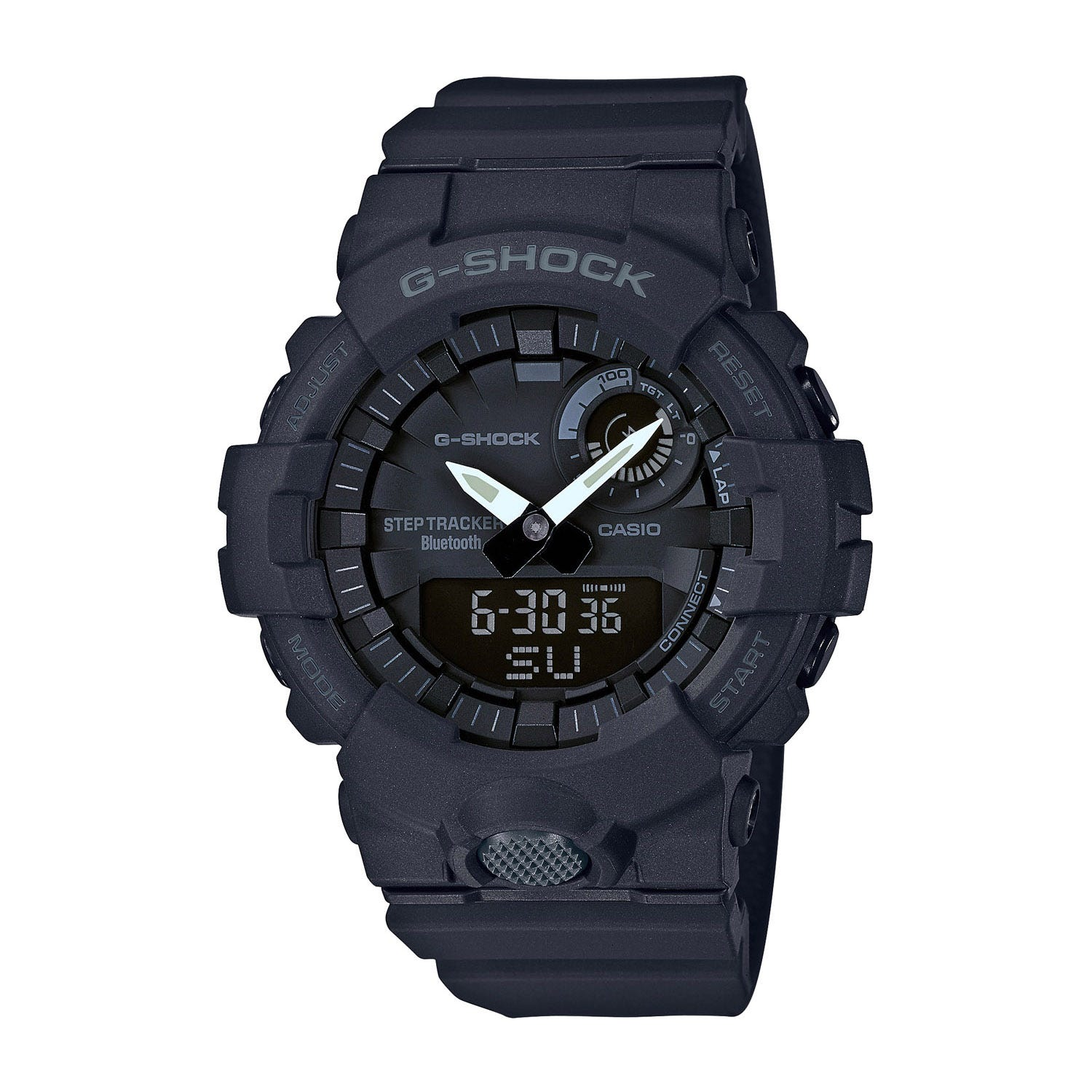 Casio G-Shock Black Dial Black Rubber Strap Men's Watch