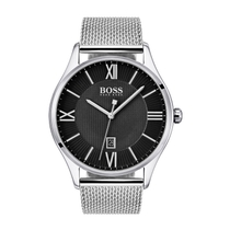 HUGO BOSS Governor Steel Mesh 43mm Men's Watch