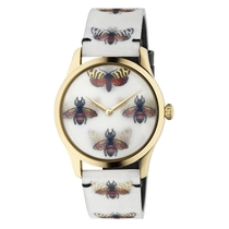 Gucci G-Timeless Moth Hologram 38mm Ladies' Watch