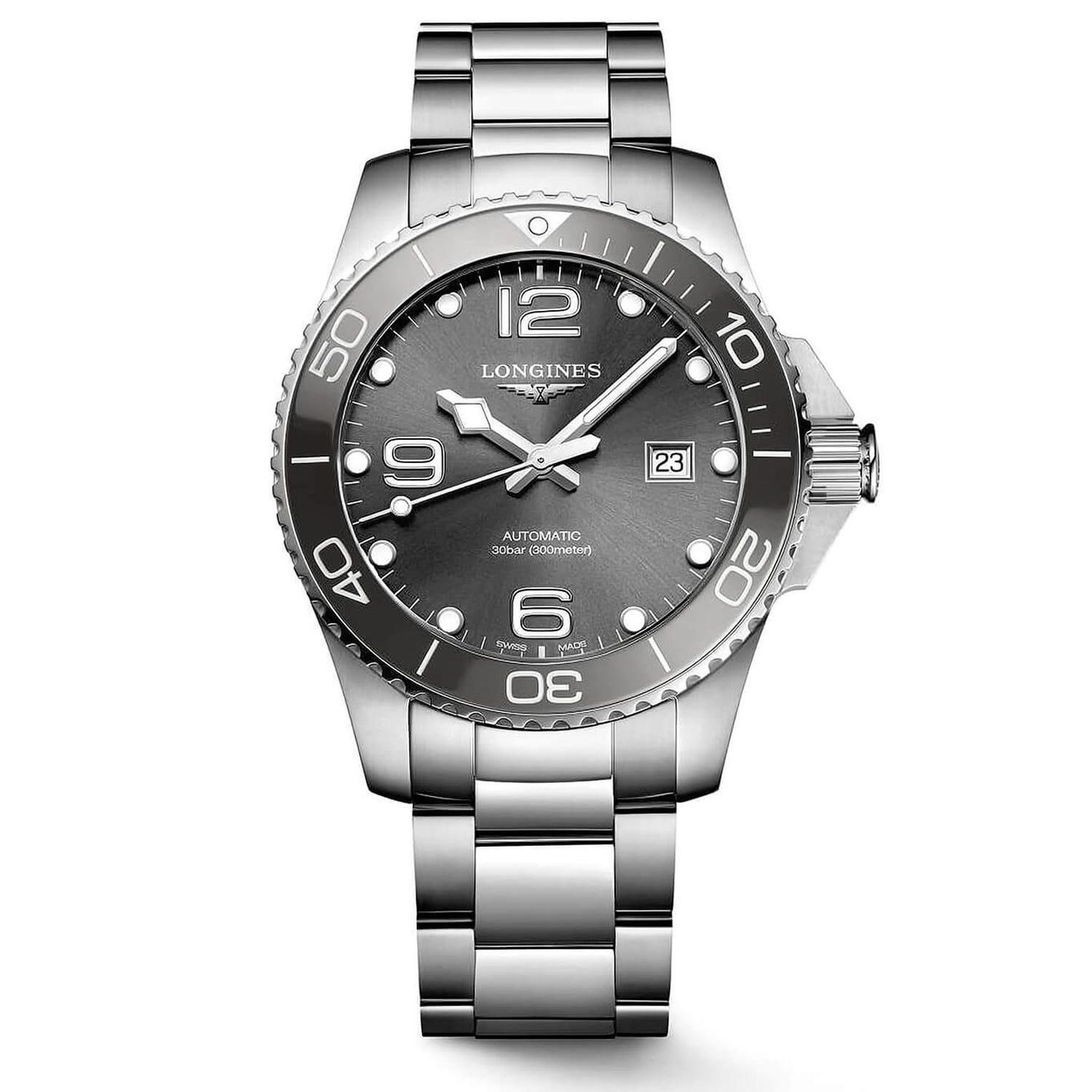 Longines HydroConquest Stainless Steel Men's Watch