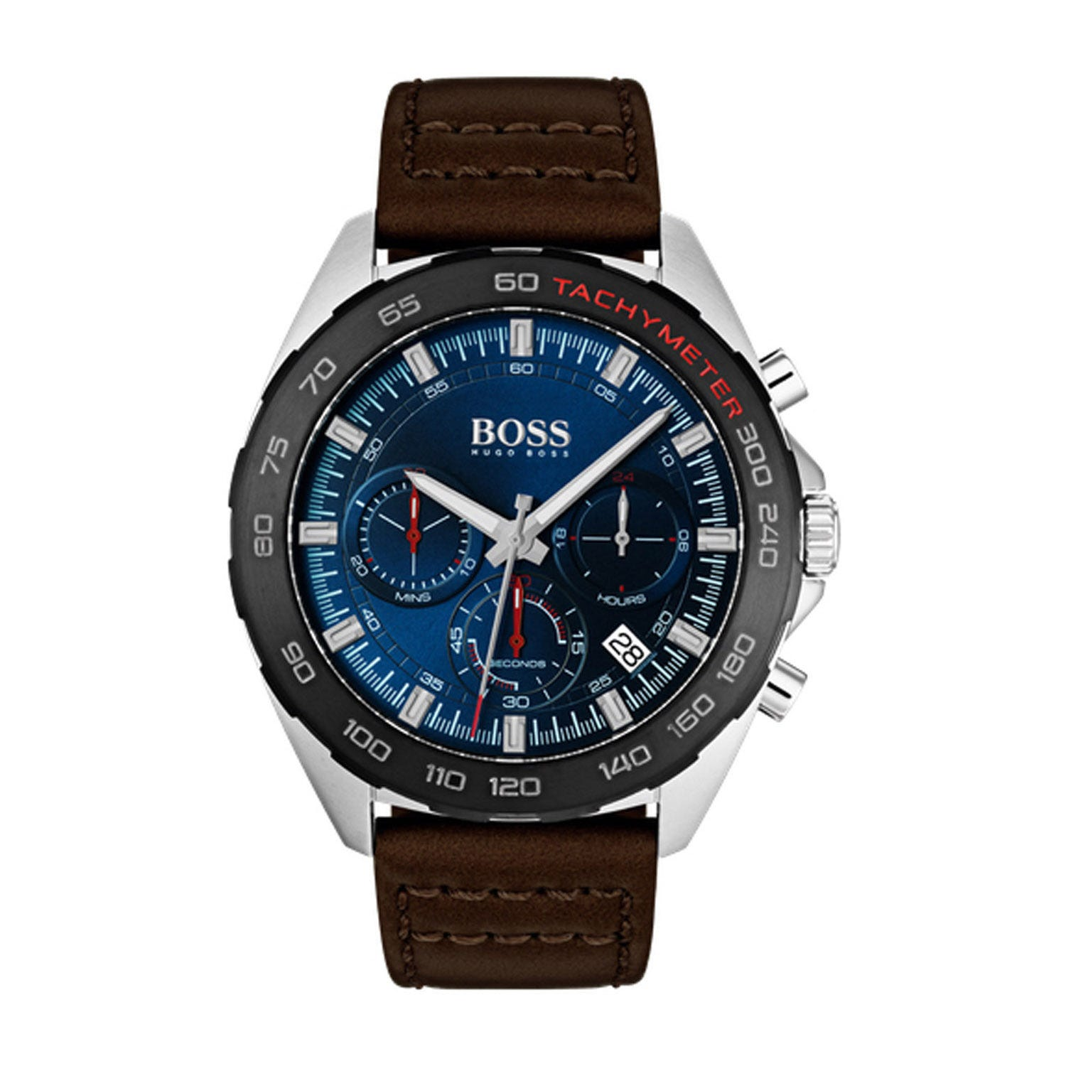 Hugo Boss Sport Intensity Blue & Brown Chronograph Men's Watch