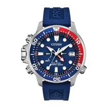 Citizen Promaster Aqualand Red & Blue Men's Diver Watch