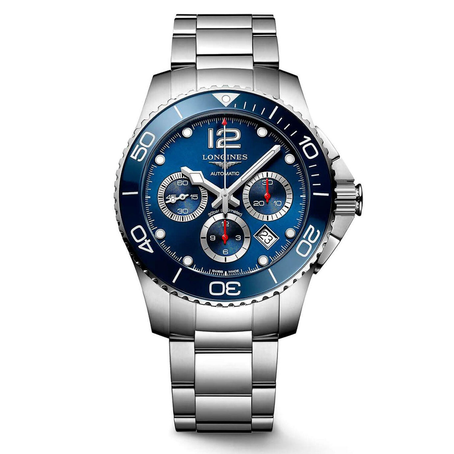 Longines Hydro Conquest Sport Automatic Stainless Steel 43mm Mens Watch