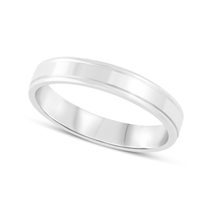 18ct White Gold 3.5mm Wedding Ring