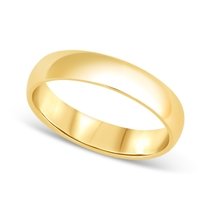18ct Gold 5mm Gents Wedding Ring