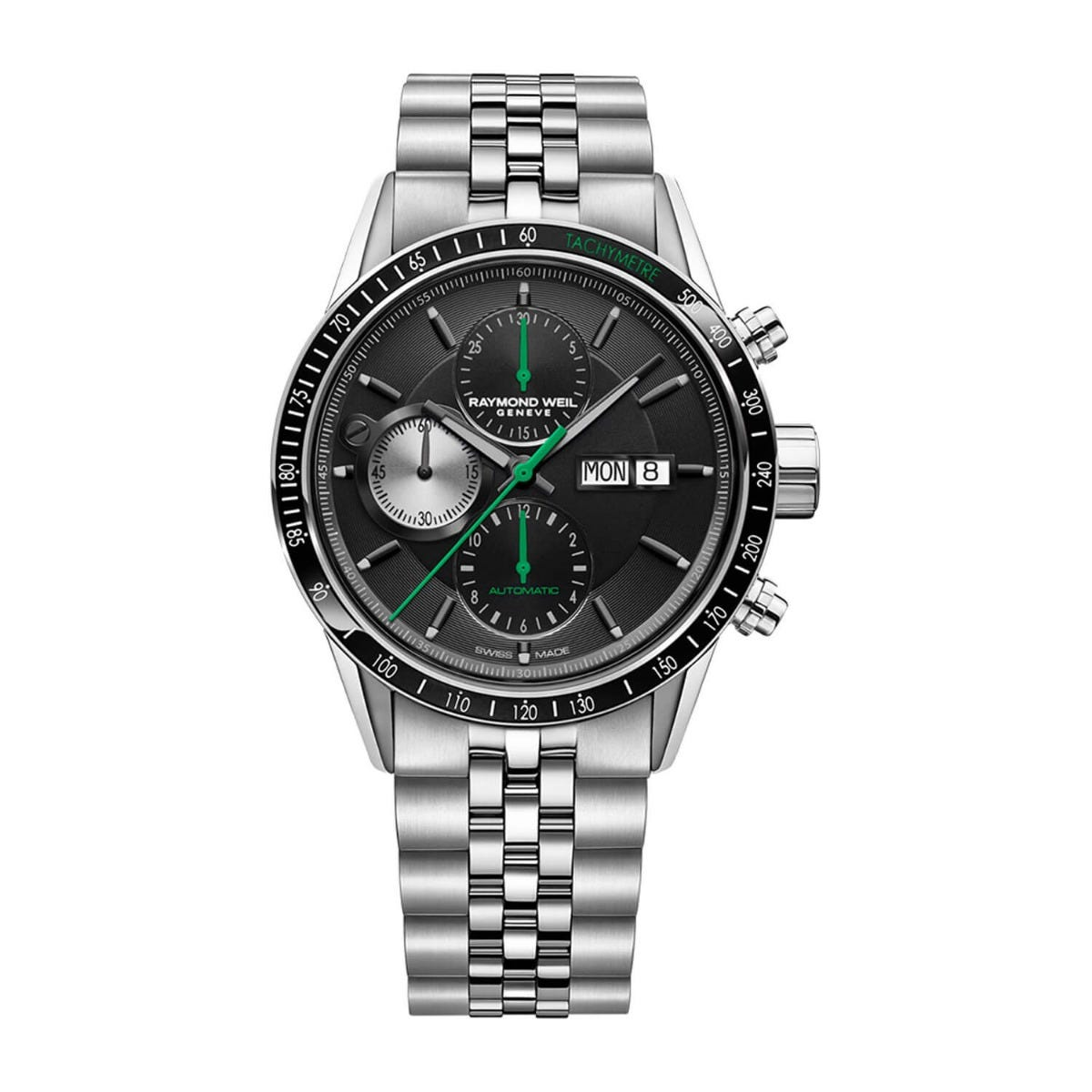 Raymond Weil Freelancer Automatic Chronograph Dial Stainless Steel 42mm Mens Watch