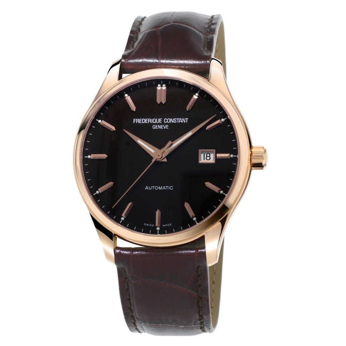 Frederique Constant Classic Automatic Rose Gold Plated 40mm Mens Watch