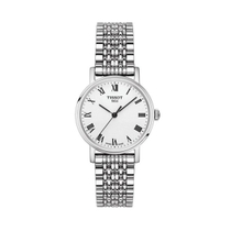 Tissot Everytime White Dial Stainless Steel 30mm Ladies Watch