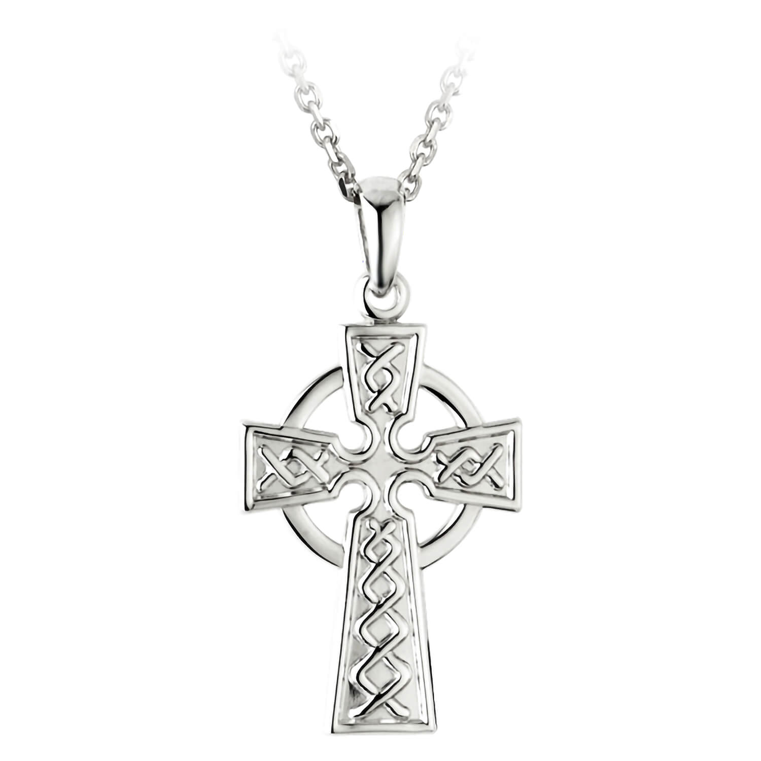Sterling Silver Celtic Cross 21mm