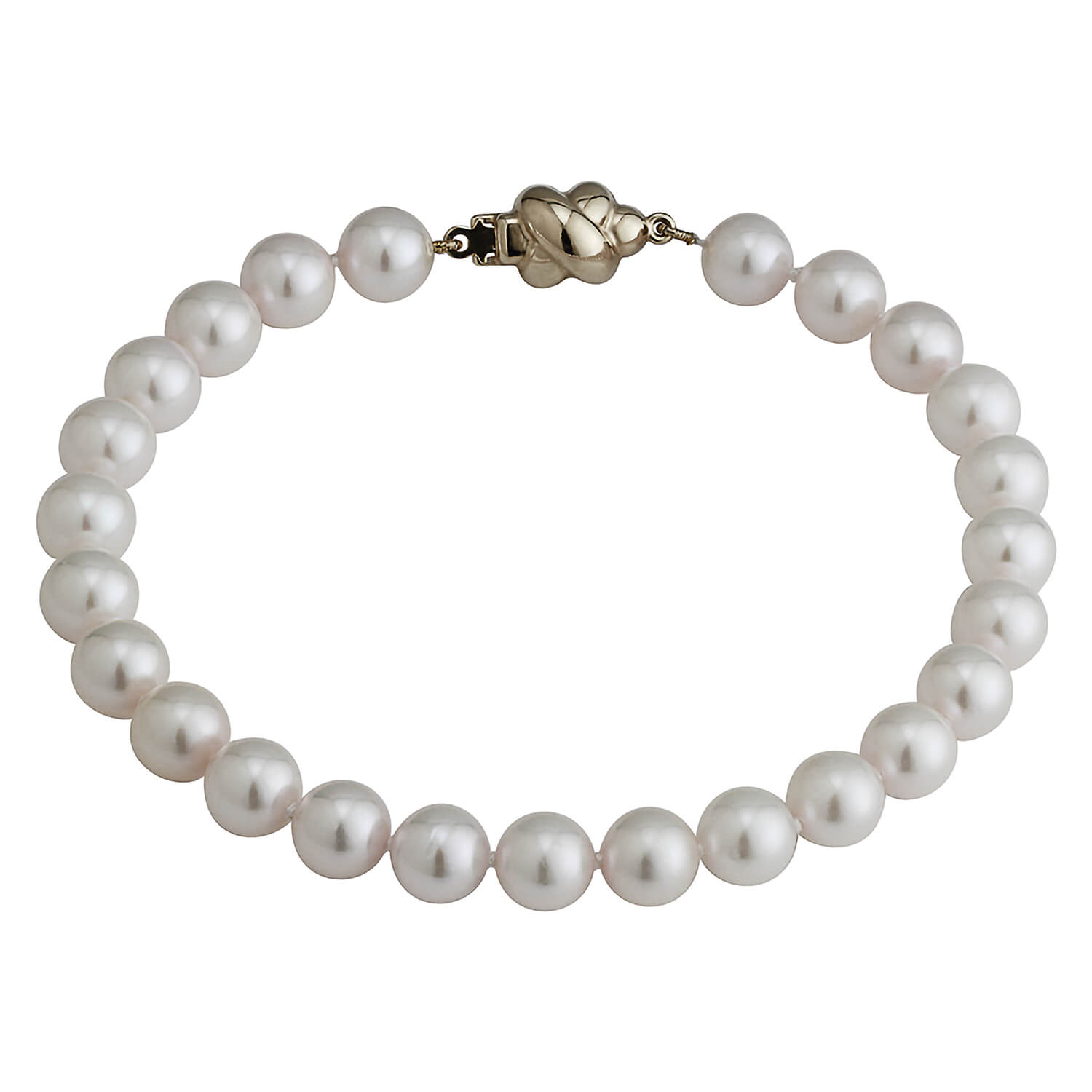 9ct Gold and Pearl Bracelet