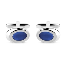 Gents Silver-Plated Cufflinks