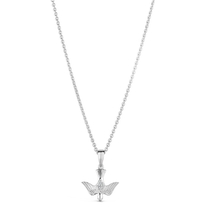 Sterling Silver Confirmation Dove Pendant