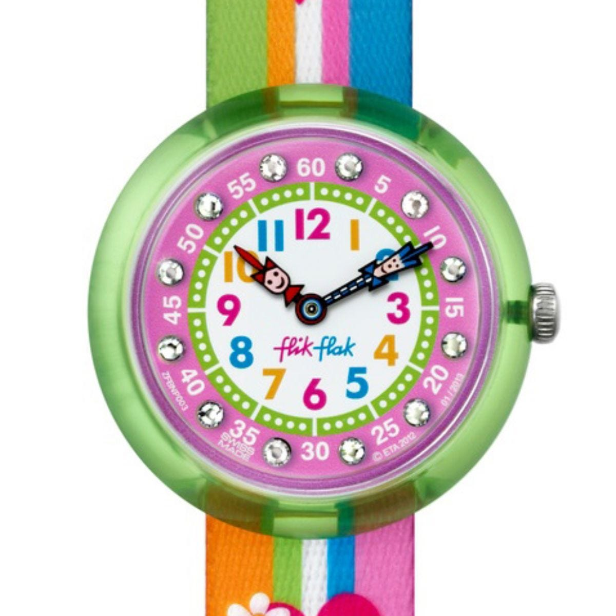 Flik Flak Stripy Stripe Watch