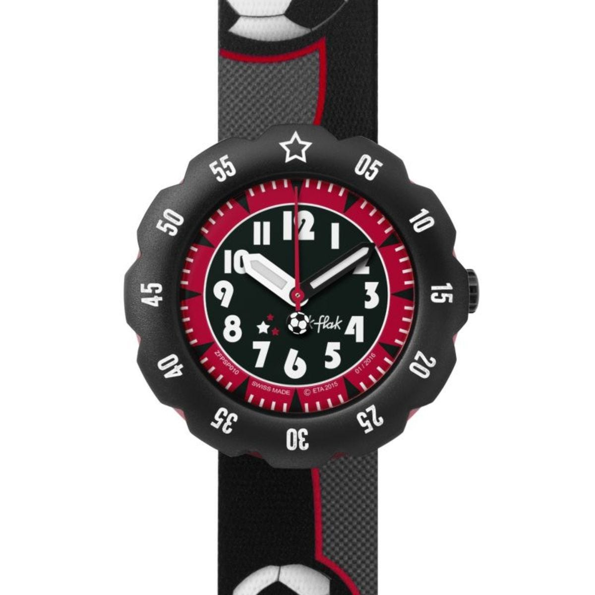 Flik  Flak Soccer Star Boys' Watch