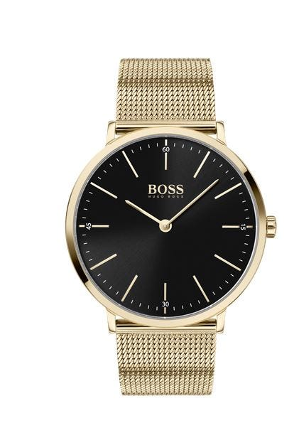 Hugo Boss Horizon Mesh Bracelet 40mm Mens Watch