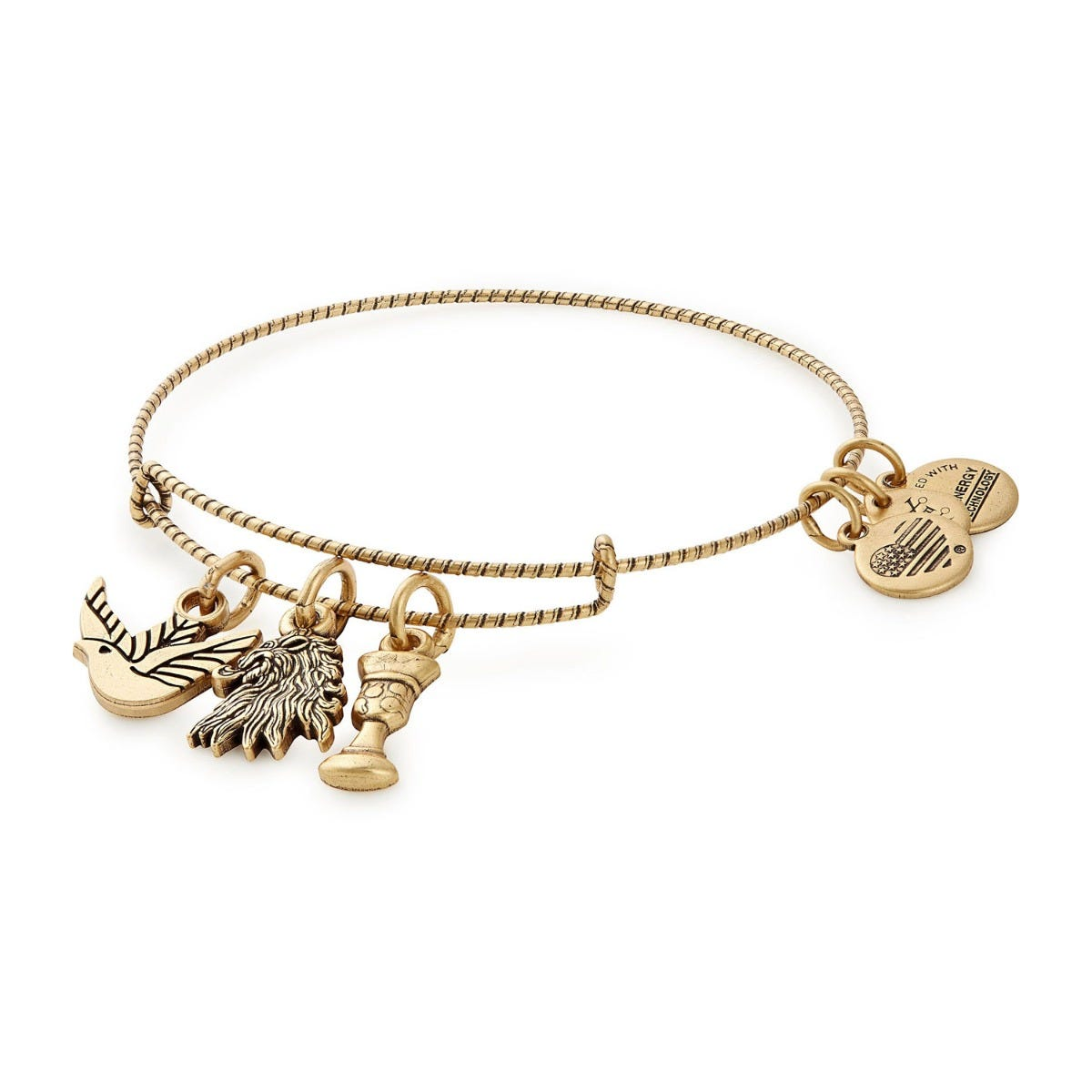 Alex and Ani Rafaelian Gold Game Of Thrones Lannister Bangle