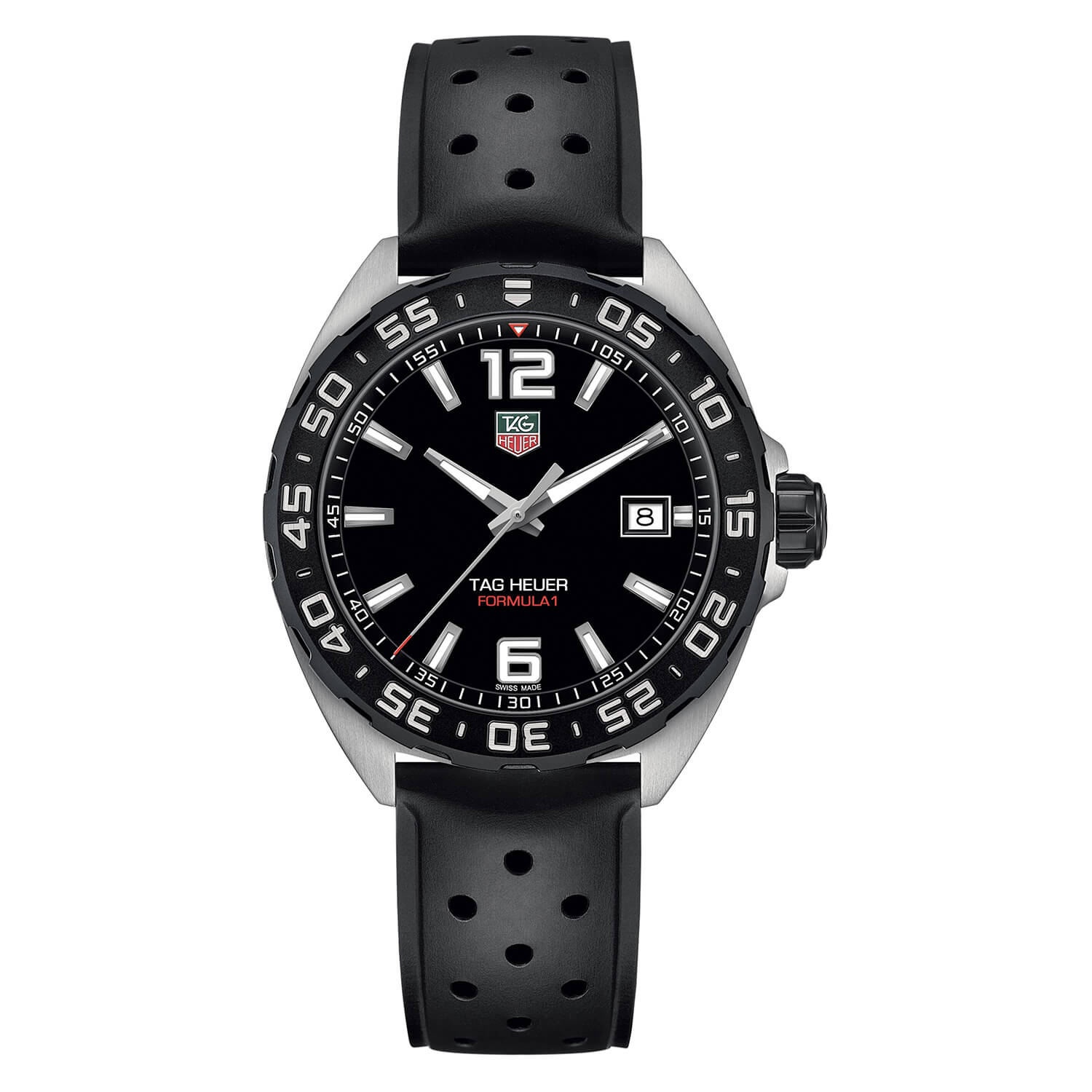 TAG Heuer Formula 1 Men's Black Strap Watch