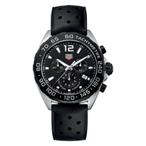 TAG Heuer Formula 1 Men's Chronograph Black Strap Watch