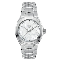 TAG Heuer Link Ladies' Mother of Pearl Stainless Steel Bracelet Watch