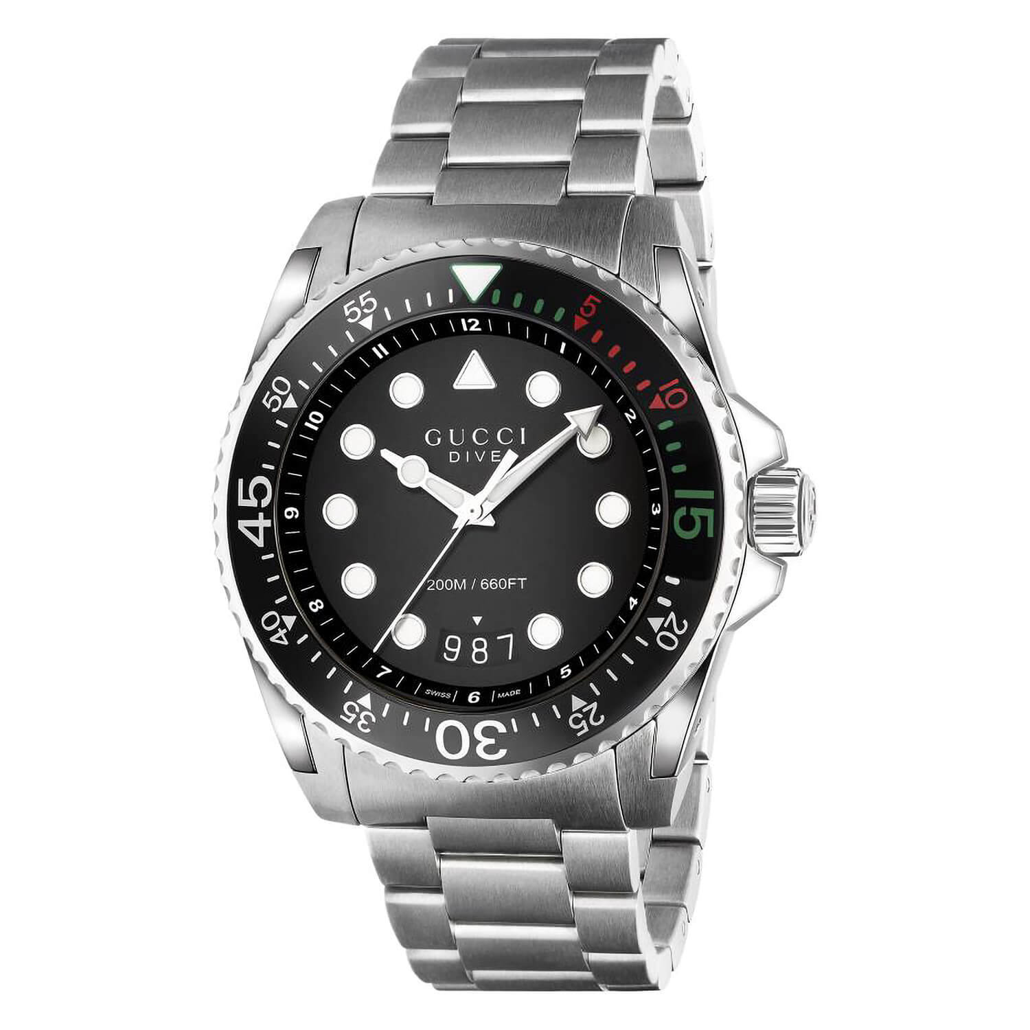 Men's Gucci Dive Stainless Steel Watch
