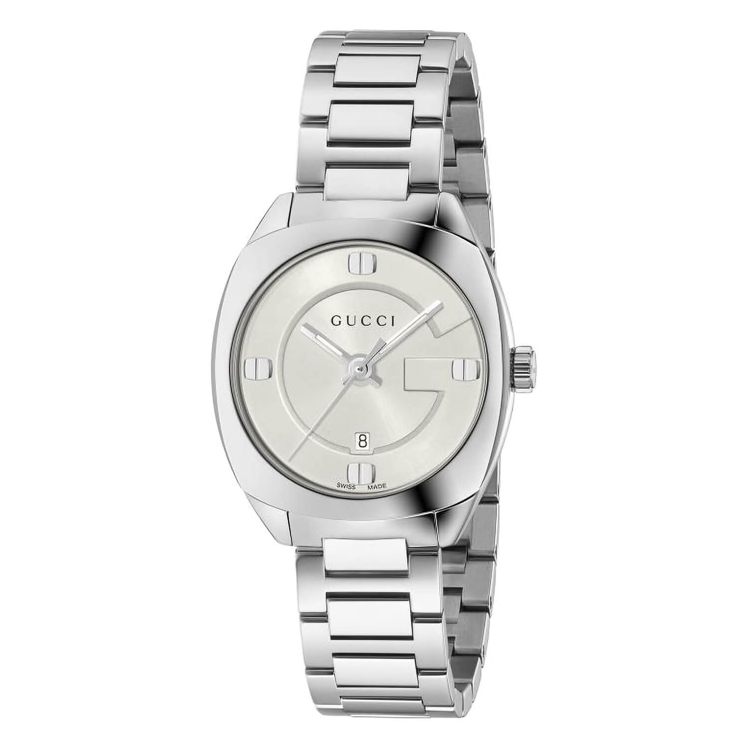 Gucci GG2570 G-Frame Ladies' Stainless Steel Watch