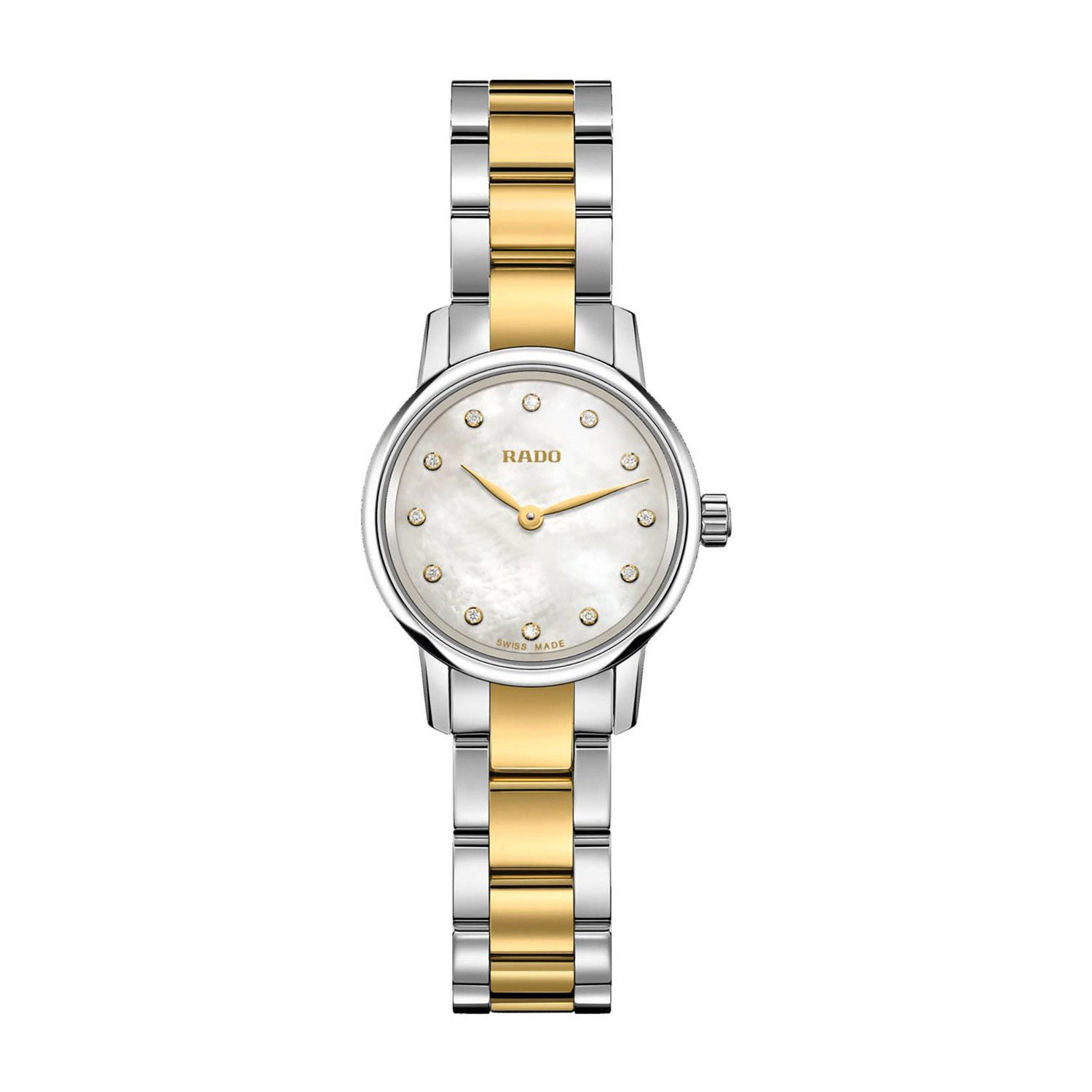 Rado Coupole Classic Mini Ladies' Two-tone Watch