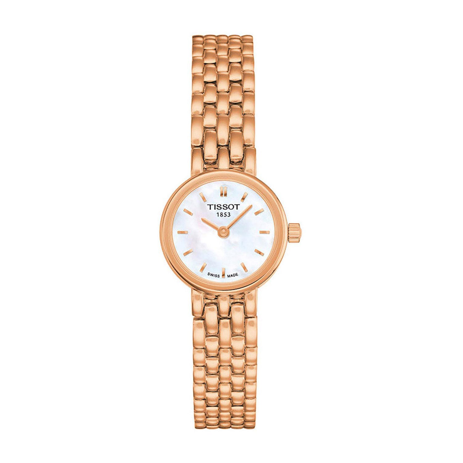 Tissot Lovely ladies' rose gold-plated watch