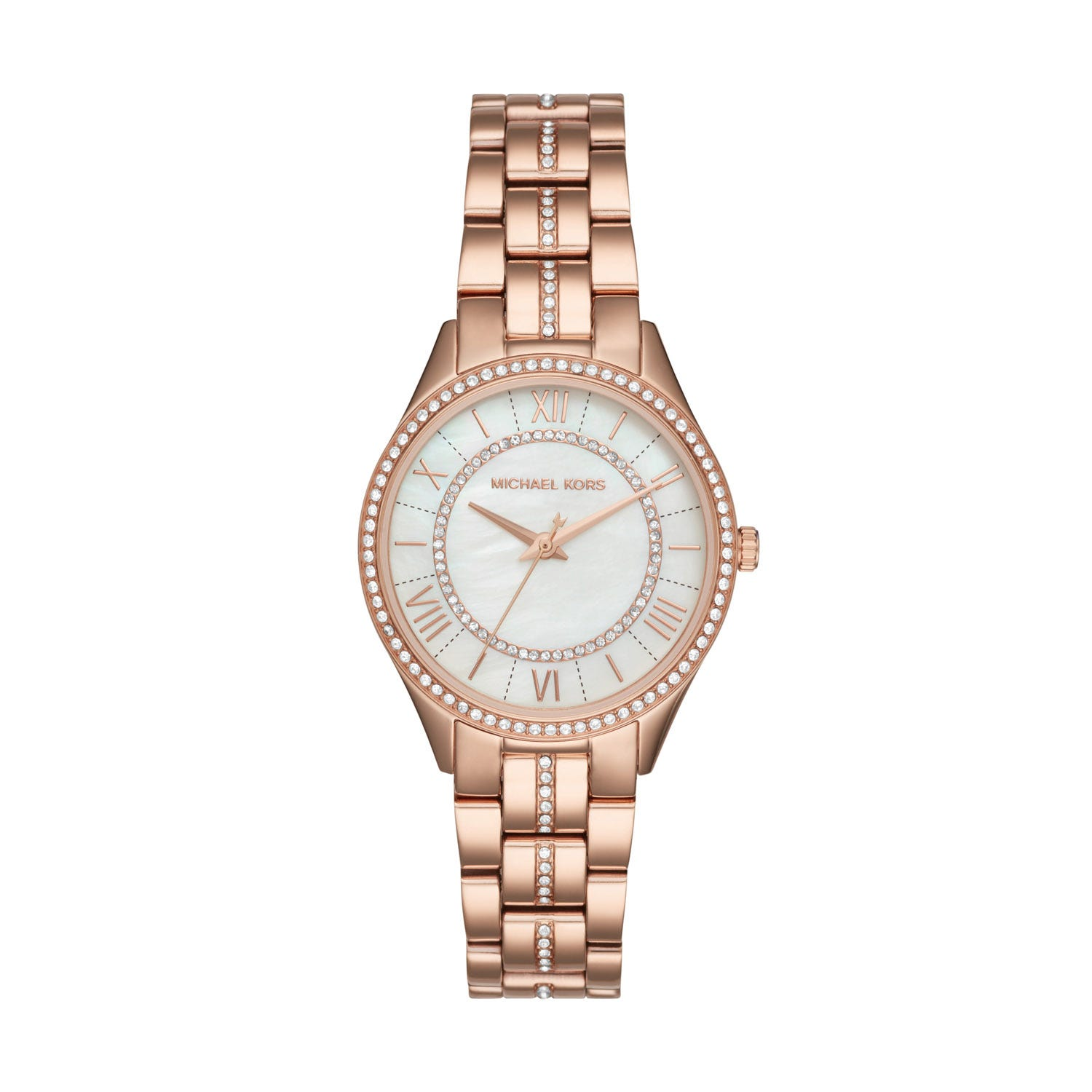 Michael Kors Lauryn White Dial Ladies Watch
