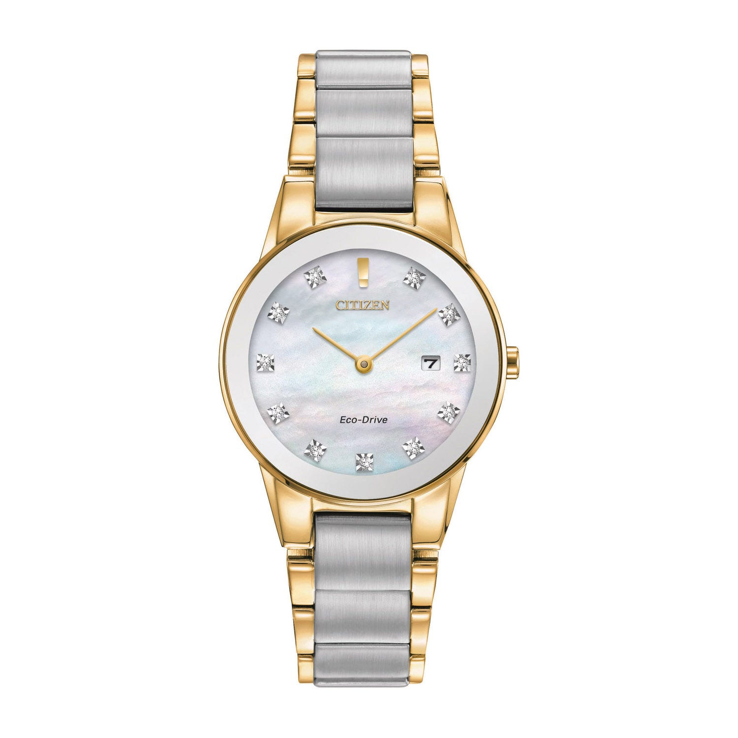 Citizen Eco Mother of Pearl and Axiom Diamond Ladies Watch
