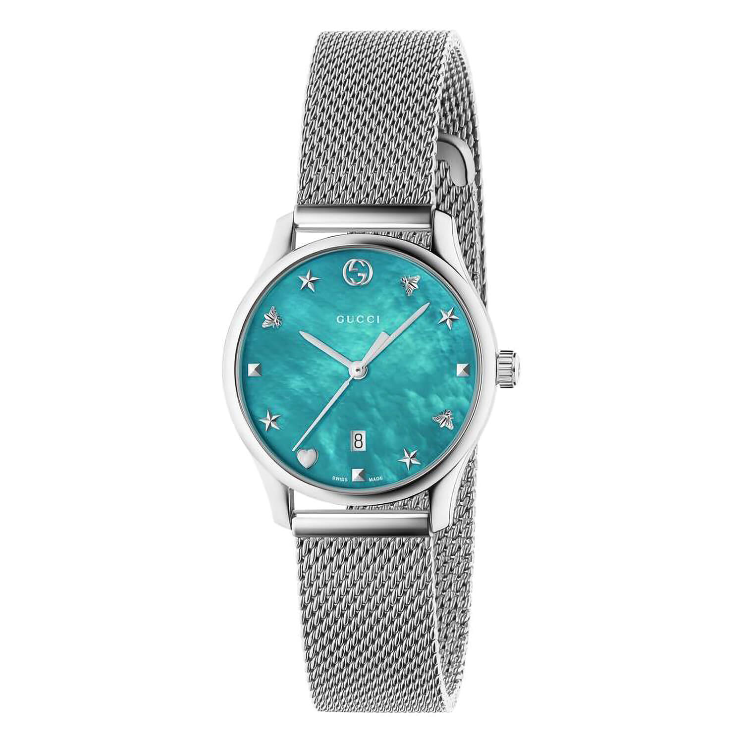 Gucci G-Timeless Blue Pearl 29mm Ladies' Watch