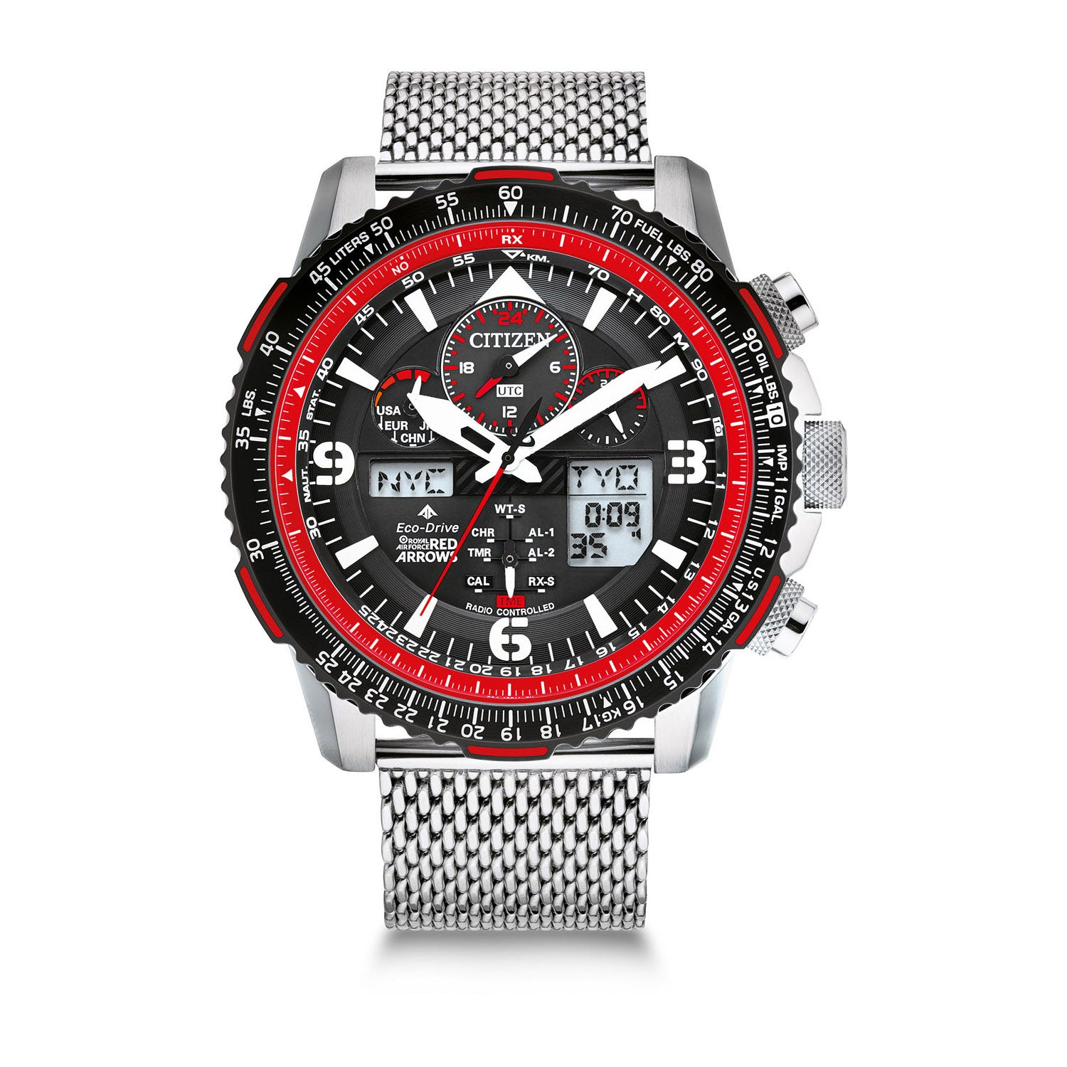 Citizen Red Arrows Skyhawk A-T 42mm Men's Watch