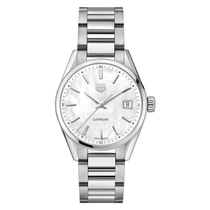 TAG Heuer Carrera Pearl & Steel 34mm Ladies' Watch