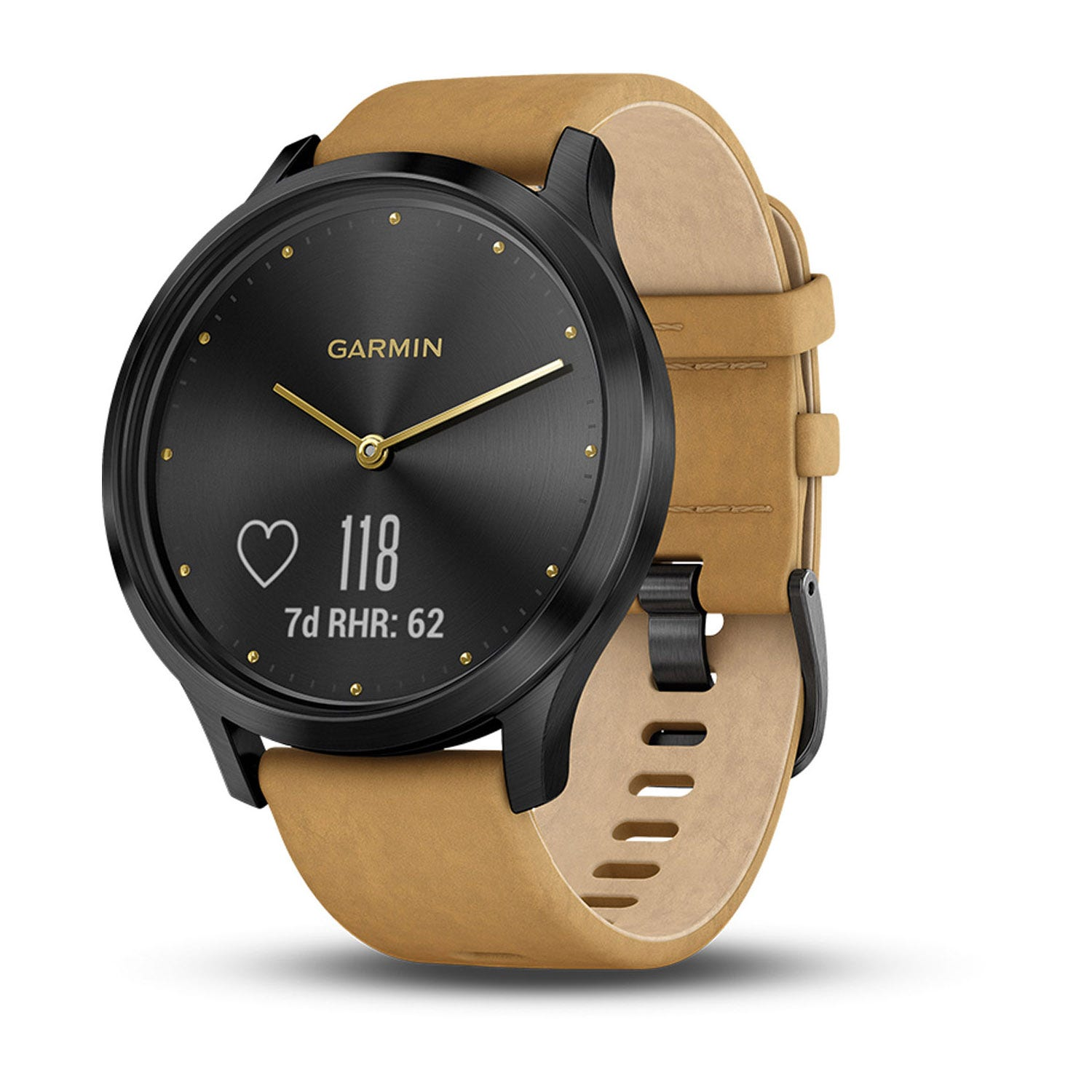 Garmin vivomove HR Premium Brown Leather 43mm Smartwatch